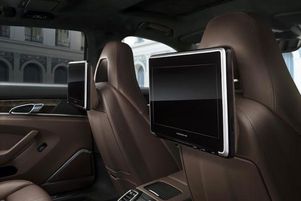 Porsche Panamera als Sondermodell Exklusive Series Innenraum