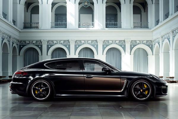 Porsche Panamera als Sondermodell Exklusive Series Seitenansicht