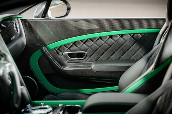Bentley Continental GT3-R Innenraum