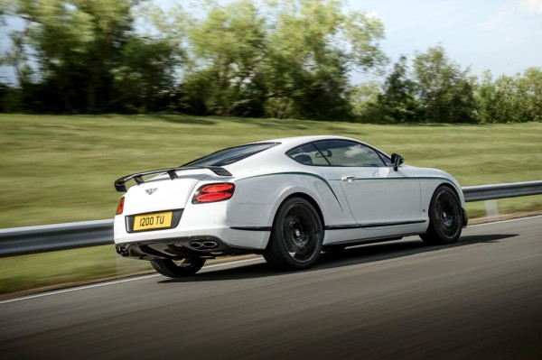 Bentley Continental GT3-R Fahrt