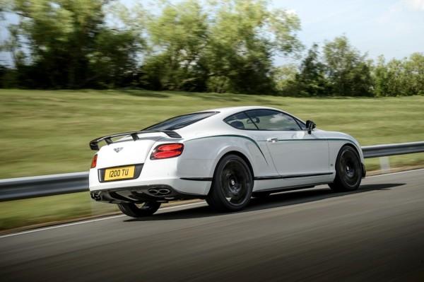 Bentley Continental GT3-R Fahrt