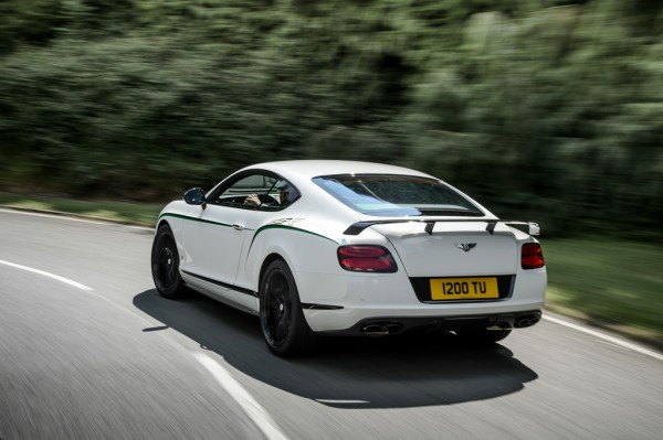 Bentley Continental GT3-R Heck