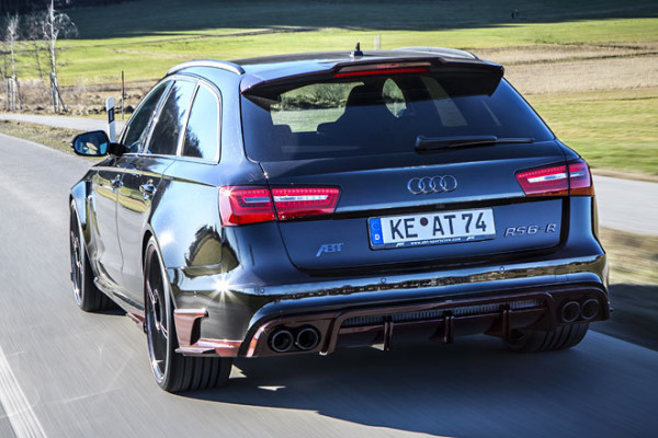 Audi RS6-R Abt Heck