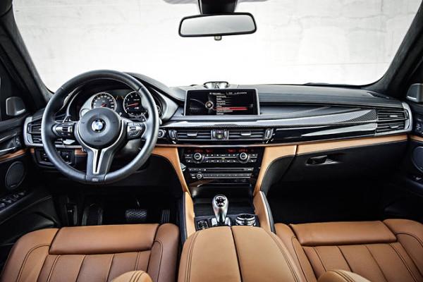 BMW X M Innenraum Sitze Cockpit