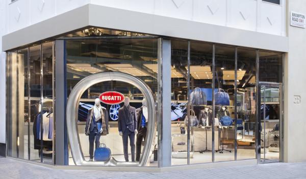 Eröffnung der ersten Boutique von Bugatti