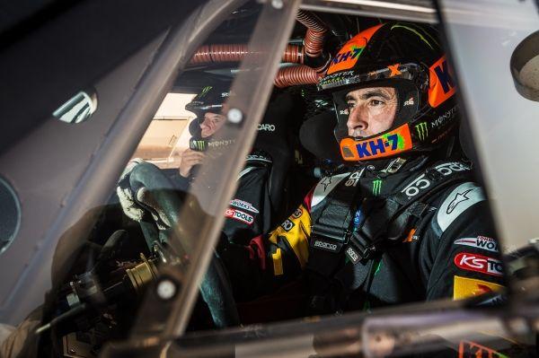 "Joan ""Nani"" Roma  Michel Périn Monster Energy Rally Raid Team - Dakar 2015"