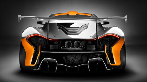 McLaren P1 GTR Heck