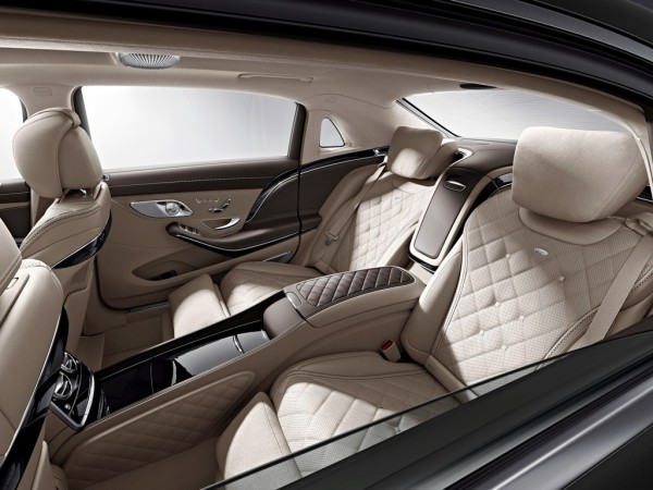 Mercedes-Maybach S600 Innenraum