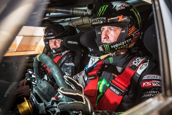 """Orlando Terranova Bernardo """"Ronnie"""" Graue  Team Dakar 2015"""