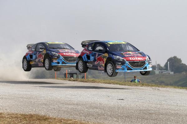 Peugeot mischt Rallycross WM auf