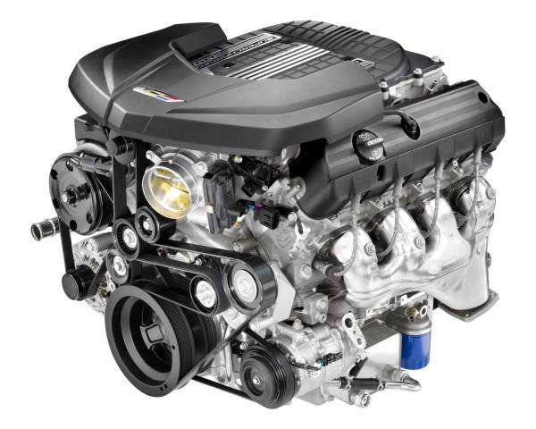 6,2 Liter-V8 des Cadillac CTS-V