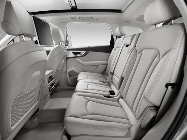 Audi Q7 Innenraum Sitze