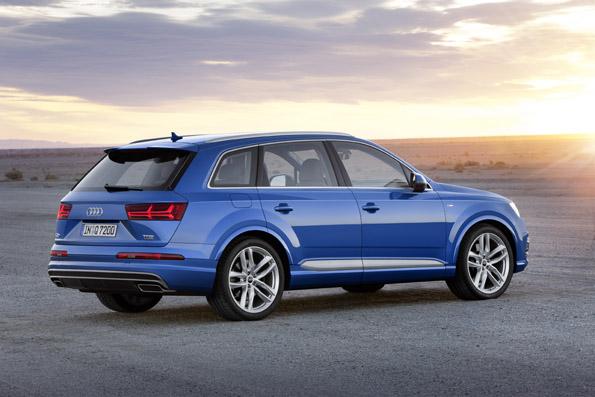 Audi Q7 Seite