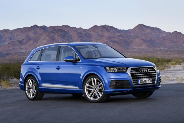 Audi Q7 Aufnahme