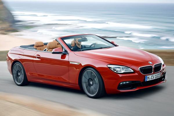BMW 6 Cabrio Dach offen