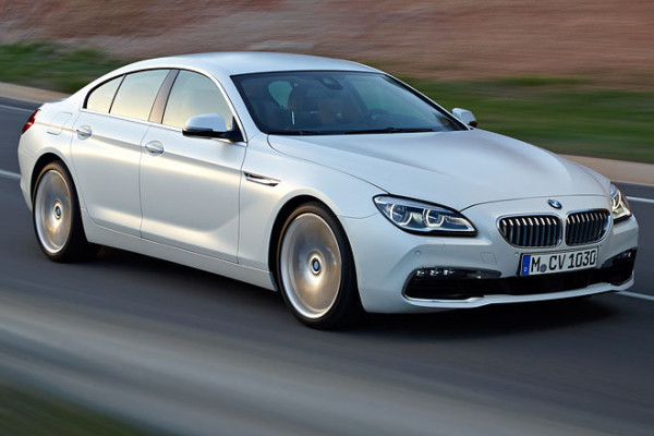BMW 6 Gran Coupe Front