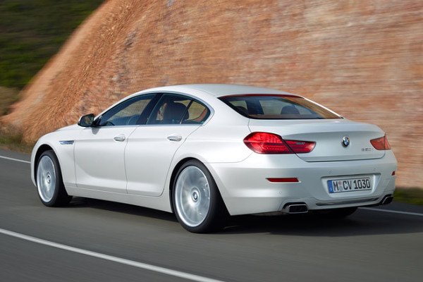 BMW 6 Gran Coupe Heck