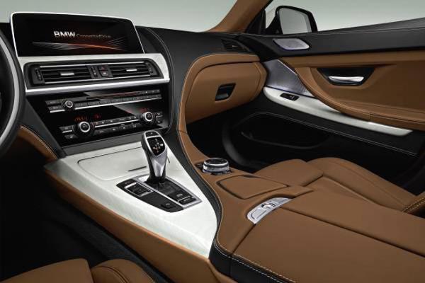 BMW 6 Innenraum