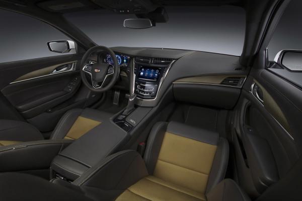 Cadillac CTS-V Innenraum