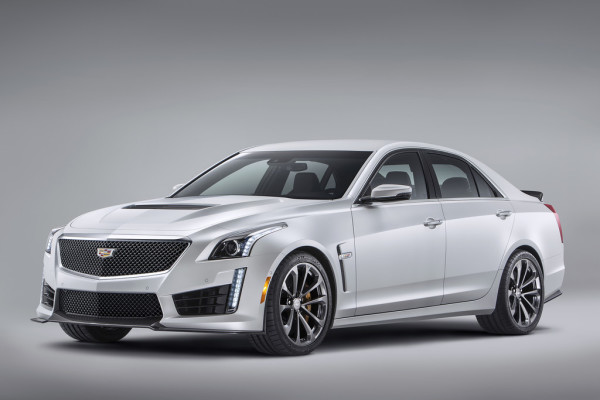 Cadillac CTS-V Limousine Front Seite