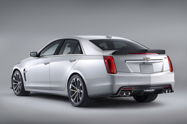 Cadillac CTS-V Limousine Heck
