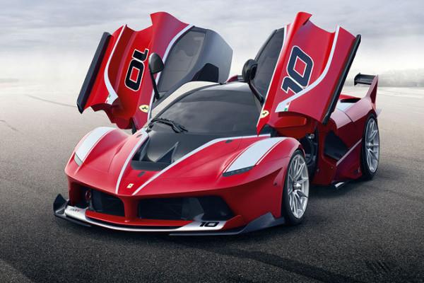 Ferrari FXX K Hybrid mit 1.050 PS