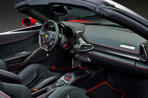 Ferrari Sergio Innenraum