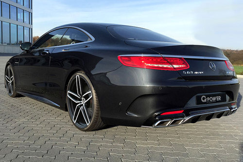 G Power Mercedes S63 AMG Coupé Heck