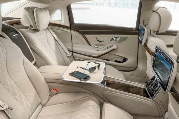 Mercedes-Maybach S 600 Innenraum