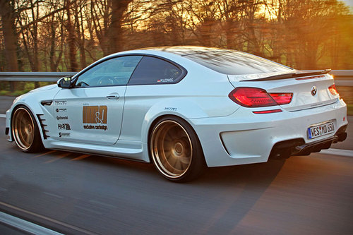 Tuner M&D Exclusive Cardesign BMW 650i Heck