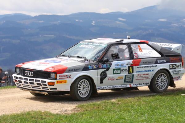 Audi quattro Klausner Lavanttal  Rallye 2013