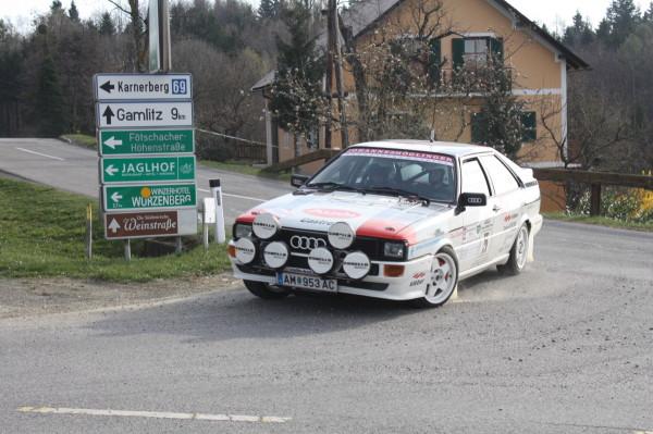 Audi quattro Rebenland Rallye 2014 1