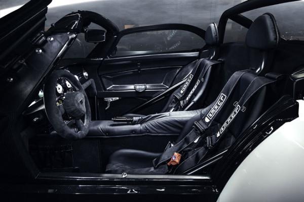 Donkervoort D8 GTO Sondermodell Bilster Berg Innenraum