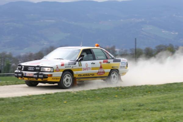 Stiq Blomqvist Audi 200 quattro Lavanttal Rallye 2014