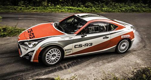 Wettbewerbsdebüt des Toyota GT86 CS-R3