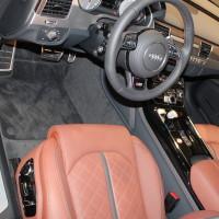 Vienna Autoshow 2015 Audi S8 Innenraum