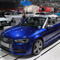 Vienna Autoshow 2015 Audi Cabrio
