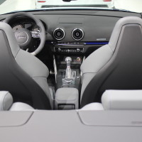 Vienna Autoshow 2015 Audi Cabrio Innenraum