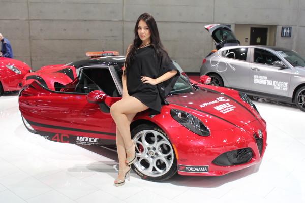 Vienna Autoshow 2015 Model