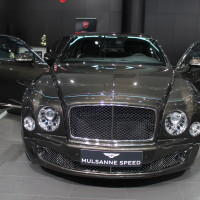 Vienna Autoshow 2015 Bentley Mulsanne Speed
