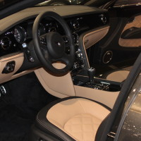 Vienna Autoshow 2015 Bentley Mulsanne Speed Innenraum