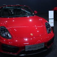 Vienna Autoshow 2015 Porsche Boxster GTS