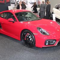 Vienna Autoshow 2015 Porsche Caymann GTS
