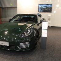 Vienna Autoshow 2015 Porsche Panamera turbo