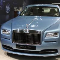 Vienna Autoshow 2015 Rolls Royce Wraith