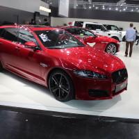 Vienna Autoshow 2015 Jaguar XF Kombi