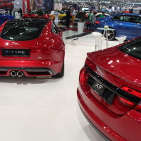 Vienna Autoshow 2015 Jaguar XF und F-Type