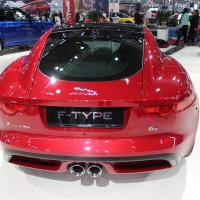 Vienna Autoshow 2015 Jaguar F-Type