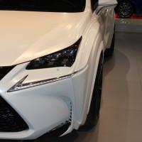 Vienna Autoshow 2015 Lexus NX 300h by will i am