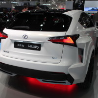 Vienna Autoshow 2015 Lexus NX 300h by will i am